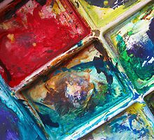 Painted Pallette No.2 by Orla Cahill Photography