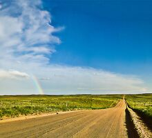 Road to the End - Sedgwick County, CO by Zeibyasis
