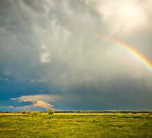 Sedgwick County Rainbow - Colorado by Zeibyasis