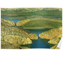 Horizontal Falls, Western Australia Poster