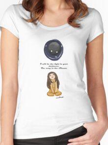 Lovely roar (deemo) Women's Fitted Scoop T-Shirt
