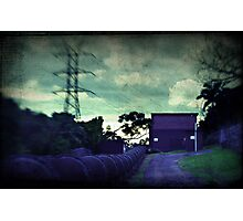 Old pump house Photographic Print