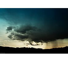 Storm Over Stoney Indian Reserve Photographic Print