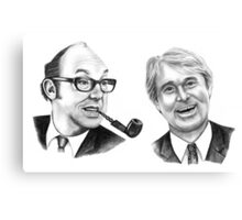 Morecambe and Wise Canvas Print