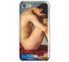 Superman moment of weakness iPhone Case/Skin