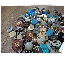 buttons spill Poster