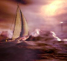 Racing the storm to safety by Carol and Mike Werner