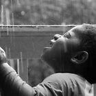 The Joy of Rain In Black and White by JoeDavisPhoto