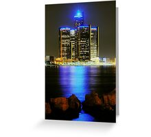 GM Tower Greeting Card