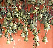Temple bells by John Mitchell