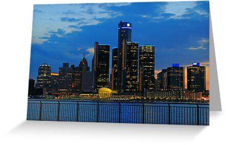 Evening in the City by Mark Bolen