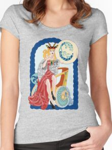 Celtic Capricorn Women's Fitted Scoop T-Shirt