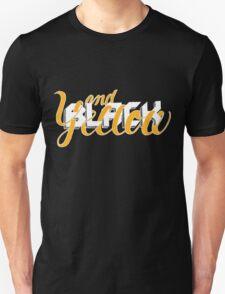 Black and Yellow: Extra Black Unisex T-Shirt