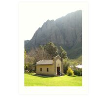 Chapel in the Hex River Valley Art Print