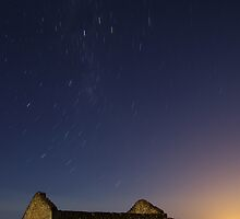 Startrails by the Moonlight by Biggzie