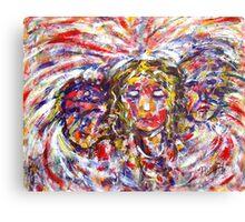 Faith Hope And Love Canvas Print