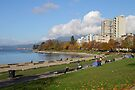 English Beach, Vancouver City, Canada  by Carole-Anne