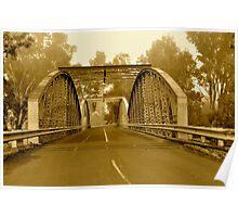 The Original Border Bridge, Goondiwindi Poster