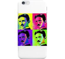 Nikola Tesla Pop Art iPhone Case/Skin