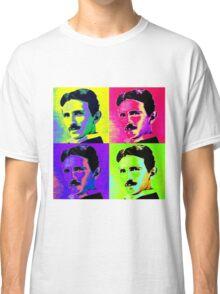 Nikola Tesla Pop Art Classic T-Shirt