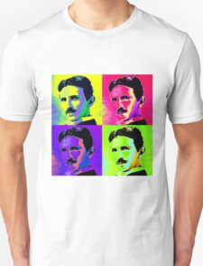 Nikola Tesla Pop Art T-Shirt