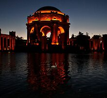 Swan Lake at the Palace of Fine Arts by fototaker