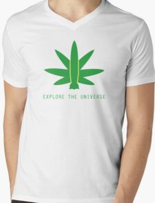 Explore The Universe Mens V-Neck T-Shirt