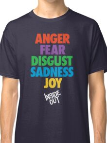 Inside Out emotions with the logo Classic T-Shirt