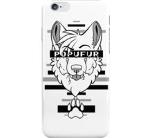 POPUFUR -grey- iPhone Case/Skin