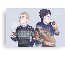 Autumn Baker Street Boys Canvas Print