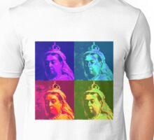Queen Victoria Pop Art Unisex T-Shirt