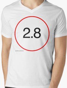 Mediarena Canon L 2.8 T-shirt Mens V-Neck T-Shirt