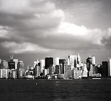 Manhattan Skyline by simtmb