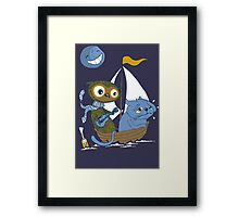 The Owl and the Sea Sick Pussy Cat Framed Print