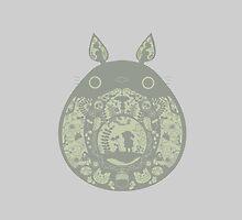 Inside Totoro by ginsanchfer