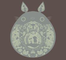 Inside Totoro One Piece - Short Sleeve