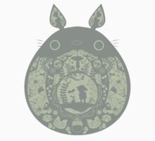 Inside Totoro One Piece - Long Sleeve