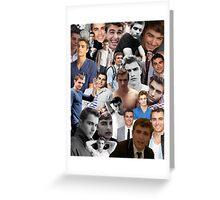 Dave Franco Collage Greeting Card