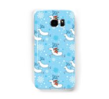 Riding Reindeer - Christmas Pattern Samsung Galaxy Case/Skin