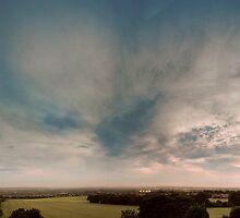 South Tyneside sunset by digitalnative