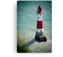 Beachy Head Lighthouse - Sussex, UK. Canvas Print
