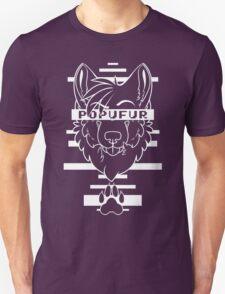 POPUFUR -white text- T-Shirt