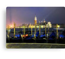 'Venice Gondolas' Canvas Print