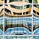 Squareflections by James  Birkbeck Abstracts
