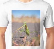 'Who, Me?' Praying Mantis Macro Unisex T-Shirt