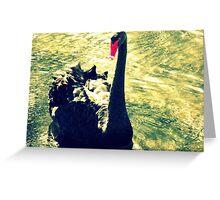 Lonley Goose  Greeting Card