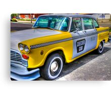 Big Yellow Taxi Canvas Print