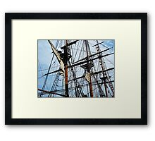 Radiant Rigging - Sailing Ships Framed Print