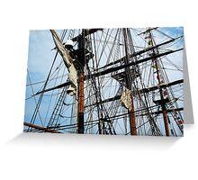 Radiant Rigging - Sailing Ships Greeting Card