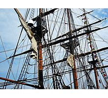Radiant Rigging - Sailing Ships Photographic Print